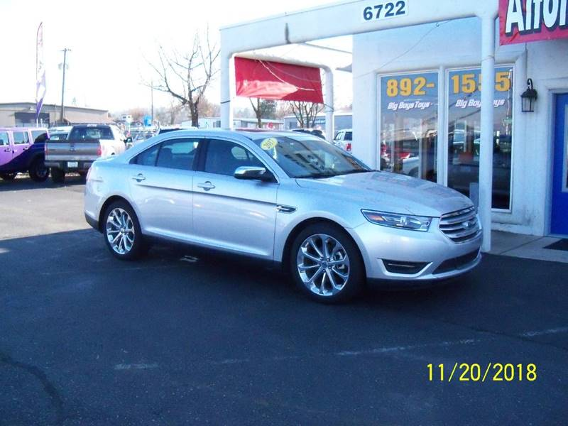 2017 FORD TAURUS LIMITED AWD 4DR SEDAN silver this tuarus is loaded navigation  back-up camera