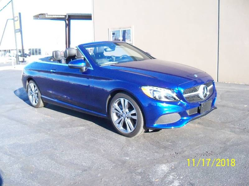 2017 MERCEDES-BENZ C-CLASS C 300 4MATIC AWD 2DR CONVERTIBLE blue this is the 1st year for c class