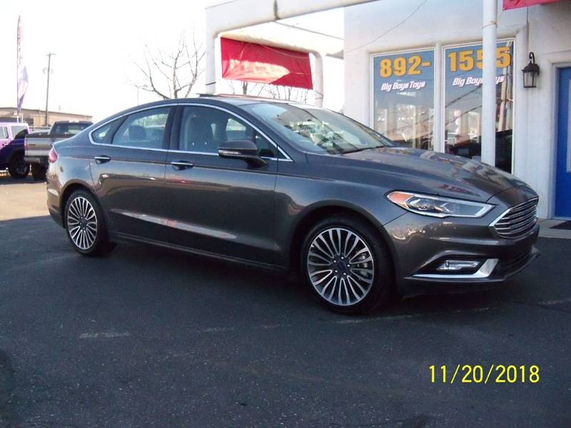 2017 FORD FUSION SE AWD 4DR SEDAN charcoal all wheel drive just in time for the winter peppy 2l