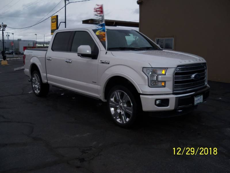 2016 FORD F-150 LIMITED 4X4 4DR SUPERCREW 55 FT white there is no  kitchen sink but it has every