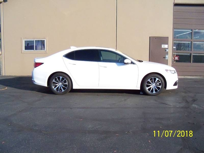 2016 ACURA TLX BASE 4DR SEDAN diamond white nice low milage 1-owner off lease wdual heated powe