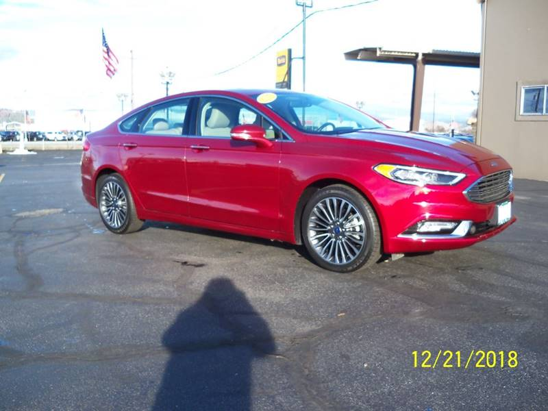 2017 FORD FUSION SE AWD 4DR SEDAN laser red nice awd ford motor credit lease return wlow miles