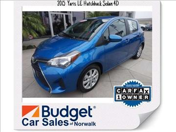 2015 Toyota Yaris for sale in Norwalk, CA