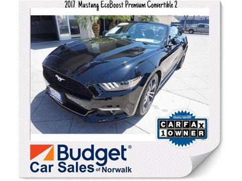2017 Ford Mustang for sale in Norwalk, CA