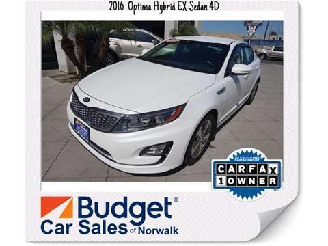 2016 Kia Optima Hybrid for sale in Norwalk, CA