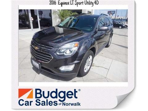 2016 Chevrolet Equinox for sale in Norwalk, CA