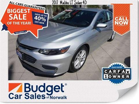 2017 Chevrolet Malibu for sale in Norwalk, CA