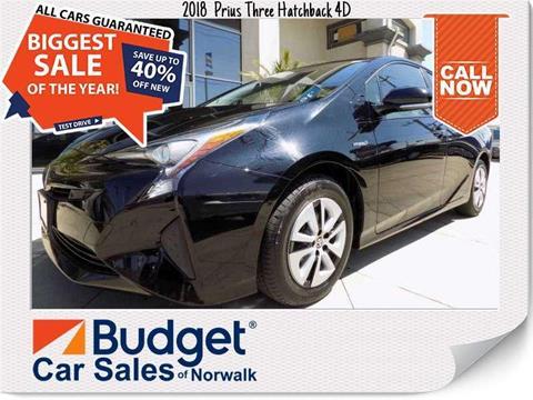 2018 Toyota Prius for sale in Norwalk, CA