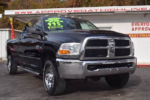 2011 RAM Ram Pickup 2500 for sale at Highline Motors in Aston PA