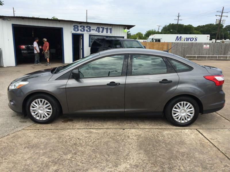 2012 Ford Focus S 4dr Sedan - Beaumont TX