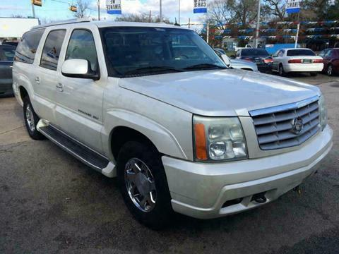 2004 Cadillac Escalade ESV for sale in Beaumont, TX