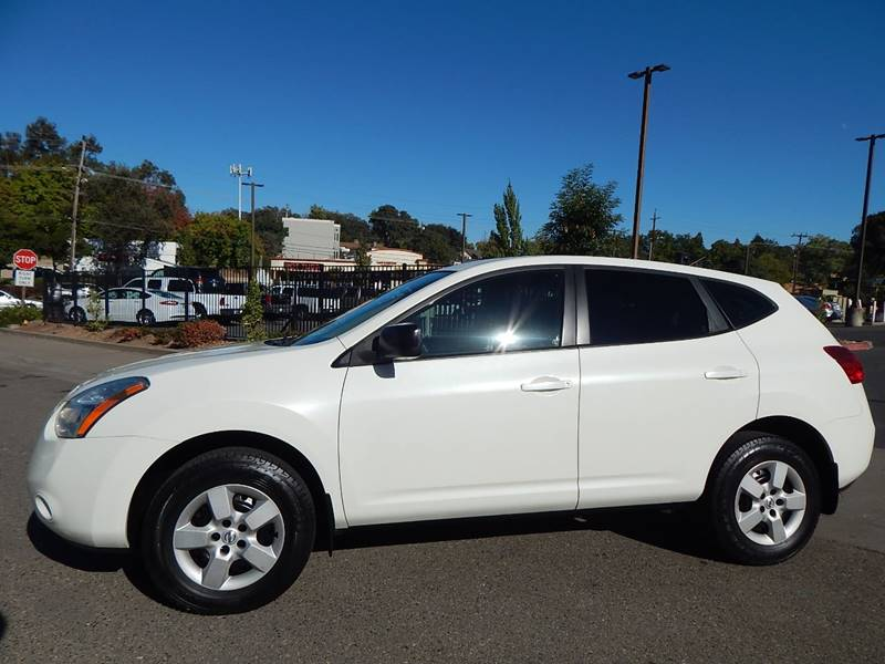 2008 Nissan Rogue Awd S Crossover 4dr In Fair Oaks Ca Direct Auto Rh  Directautooutlet Com Nissan Rogue Wheels Donut Spare Tire