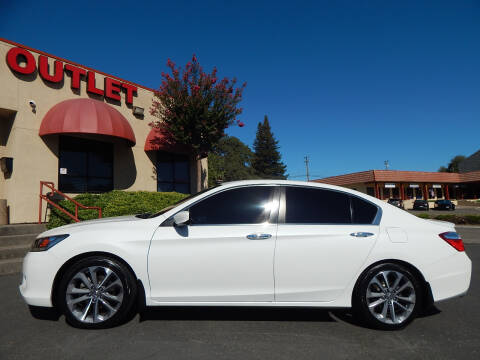 2015 Honda Accord for sale at Direct Auto Outlet LLC in Fair Oaks CA