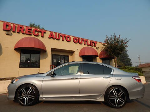 2017 Honda Accord for sale at Direct Auto Outlet LLC in Fair Oaks CA