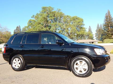2001 Toyota Highlander for sale in Fair Oaks, CA