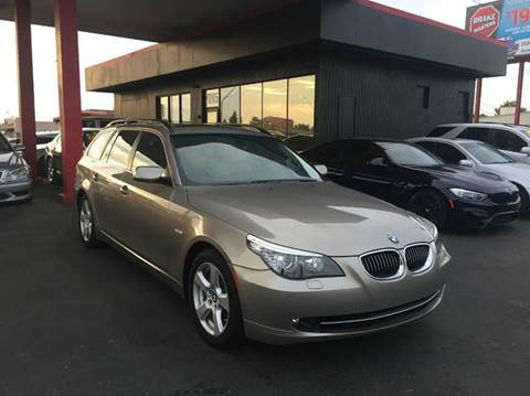 2008 BMW 5 Series for sale at JQ Motorsports East in Tucson AZ