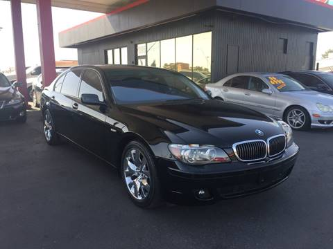 2008 BMW 7 Series for sale at JQ Motorsports East in Tucson AZ