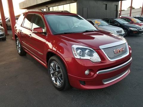 2012 GMC Acadia for sale at JQ Motorsports East in Tucson AZ