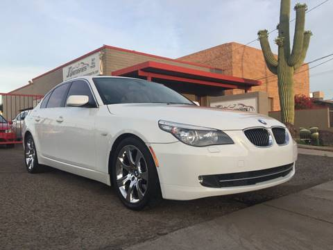 2008 BMW 5 Series for sale at JQ Motorsports in Tucson AZ