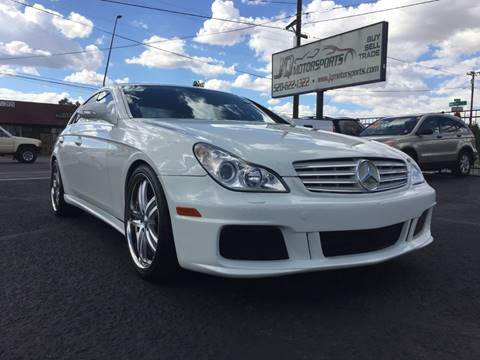 2007 Mercedes-Benz CLS for sale at JQ Motorsports in Tucson AZ