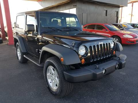 2011 Jeep Wrangler for sale at JQ Motorsports East in Tucson AZ