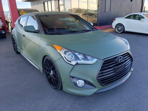 2016 Hyundai Veloster Turbo for sale at JQ Motorsports East in Tucson AZ