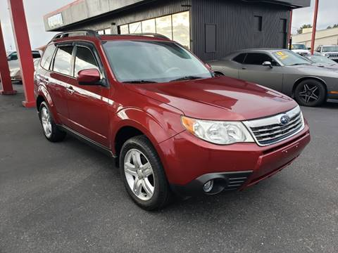 2010 Subaru Forester for sale at JQ Motorsports East in Tucson AZ