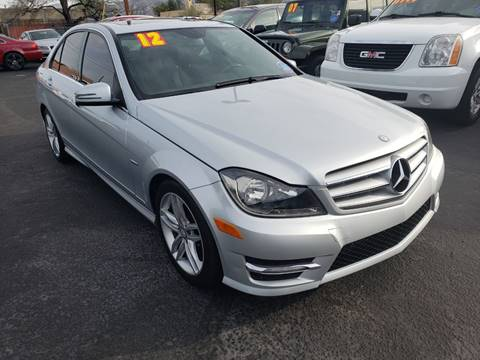 2012 Mercedes-Benz C-Class for sale at JQ Motorsports in Tucson AZ
