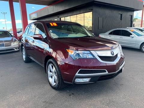 2010 Acura MDX for sale at JQ Motorsports East in Tucson AZ