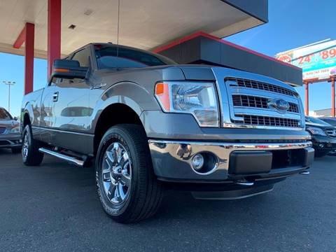 2013 Ford F-150 for sale at JQ Motorsports East in Tucson AZ