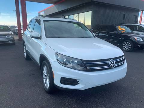 2017 Volkswagen Tiguan for sale at JQ Motorsports East in Tucson AZ