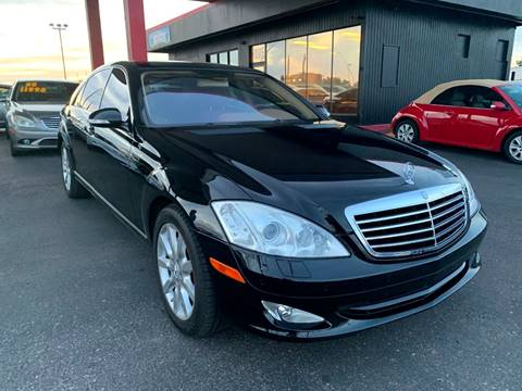 2007 Mercedes-Benz S-Class for sale at JQ Motorsports in Tucson AZ