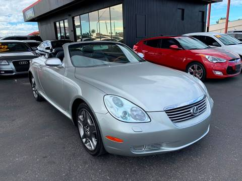 2002 Lexus SC 430 for sale at JQ Motorsports East in Tucson AZ