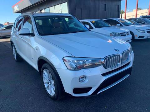 2016 BMW X3 for sale at JQ Motorsports East in Tucson AZ