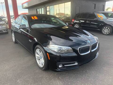 2015 BMW 5 Series for sale at JQ Motorsports East in Tucson AZ