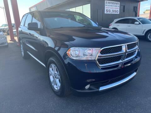 2012 Dodge Durango for sale at JQ Motorsports in Tucson AZ