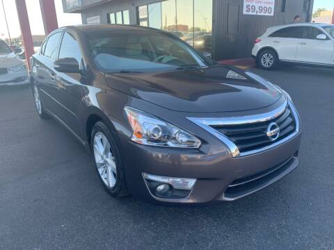 2014 Nissan Altima for sale at JQ Motorsports East in Tucson AZ