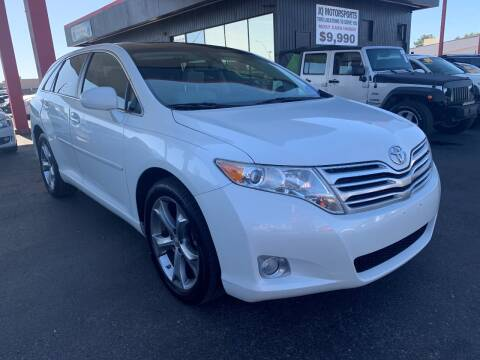 2012 Toyota Venza for sale at JQ Motorsports in Tucson AZ