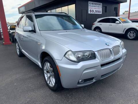 2007 BMW X3 3.0si for sale at JQ Motorsports East in Tucson AZ