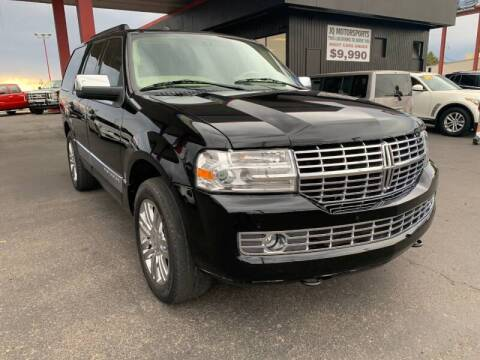2009 Lincoln Navigator for sale at JQ Motorsports East in Tucson AZ