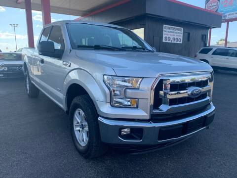 2015 Ford F-150 XLT for sale at JQ Motorsports East in Tucson AZ