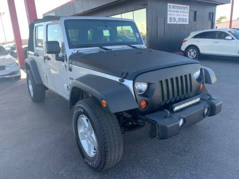 2011 Jeep Wrangler Unlimited for sale at JQ Motorsports East in Tucson AZ