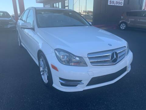 2013 Mercedes-Benz C-Class for sale at JQ Motorsports in Tucson AZ
