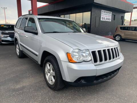 2009 Jeep Grand Cherokee for sale at JQ Motorsports in Tucson AZ