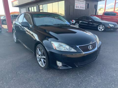 2008 Lexus IS 250 for sale at JQ Motorsports East in Tucson AZ