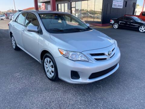 2011 Toyota Corolla for sale at JQ Motorsports in Tucson AZ