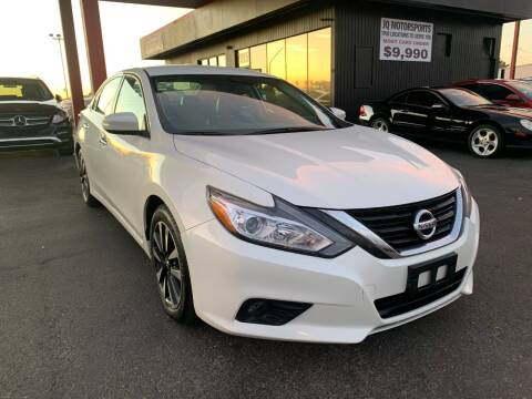 2018 Nissan Altima for sale at JQ Motorsports East in Tucson AZ