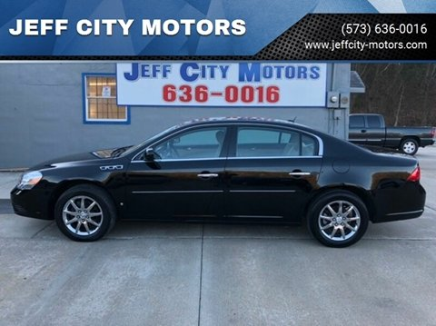 2007 Buick Lucerne for sale at JEFF CITY MOTORS in Holts Summit MO