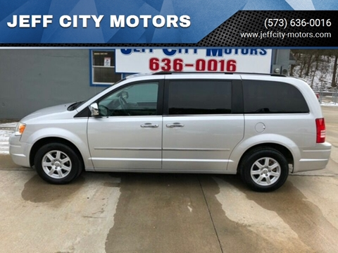 2010 Chrysler Town and Country for sale at JEFF CITY MOTORS in Holts Summit MO