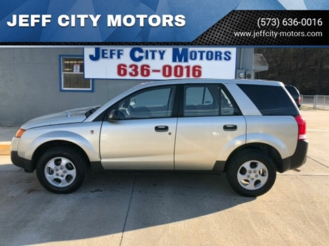 2002 Saturn Vue for sale at JEFF CITY MOTORS in Holts Summit MO